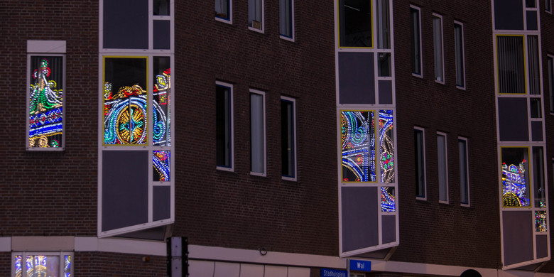 Reflectie - Gemaakt tijdens het GLOW evenement in Eindhoven