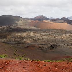 Nationaal Park de Timanfaya.