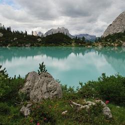 Lac Bleu Dolomieten