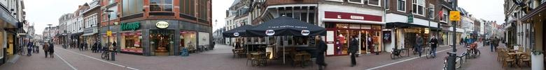 Langestraat Amersfoort - Panorama Langestraat Amersfoort