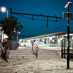 Alpen by Night - Central station