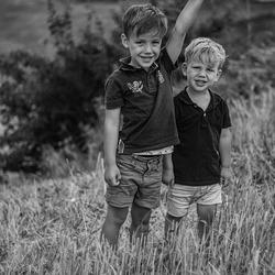 Sam en Finn