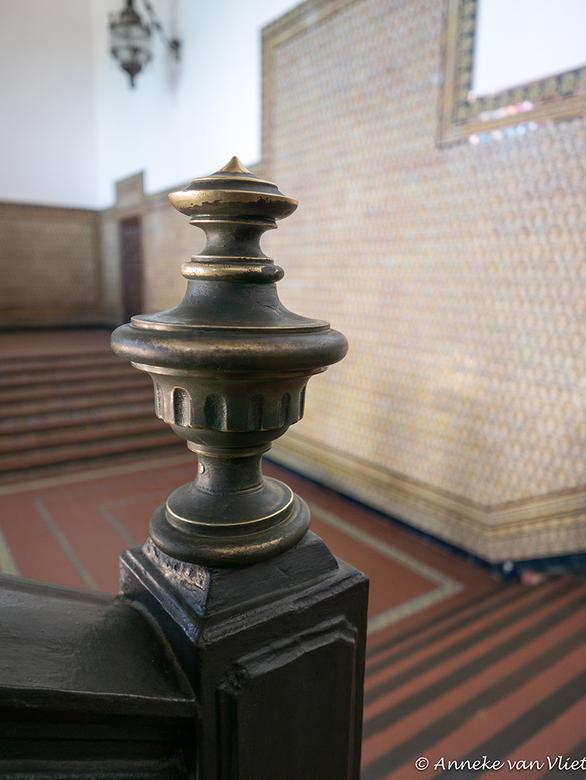 Sevilla in een gebouw op de Plaza d'Espagna -