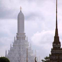 Paleis van de koning en koningin, Bangkok, Thailand.
