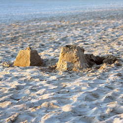 Two sandbuildings 1
