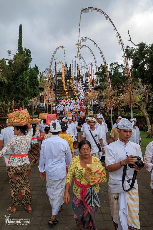 Pura Besakih tempel op bali - De Pura Besakih is de grootste tempel en de ligt Pura in het midden van Bali. De Pura Besakih tempel is verreweg de bela