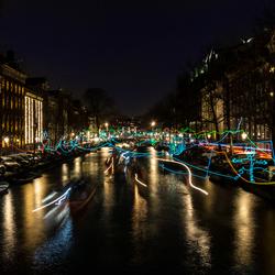Paths Crossing - Amsterdam Light Festival
