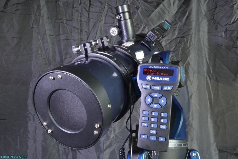 De Meade Starnavigator. - De Meade StarNavigator D=130mm / F=1000mm / f/7.7 Reflector telescoop, uitgerust met de Audiostar controller.<br />