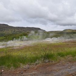 Geysir field IJsland