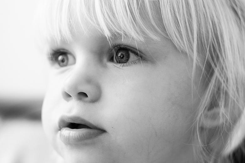 close up - close up zwart wit