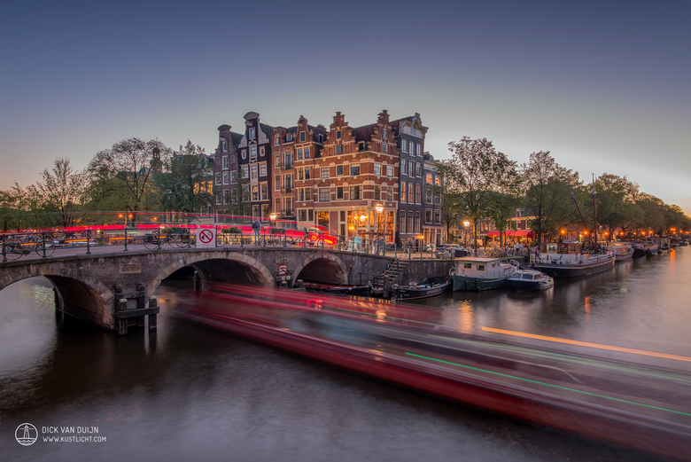 Amsterdam Light Trails