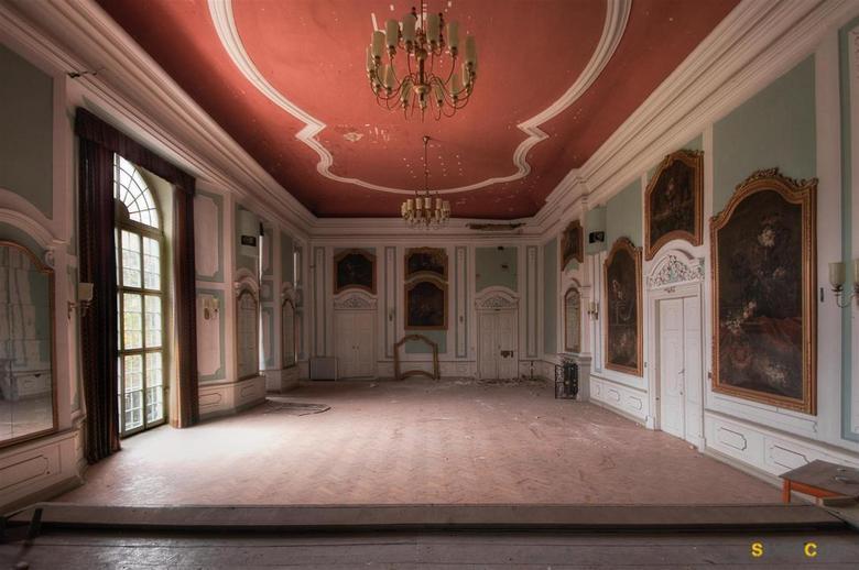 Schloss der Galerien - Een verlaten/leegstaand kasteel in duitsland.