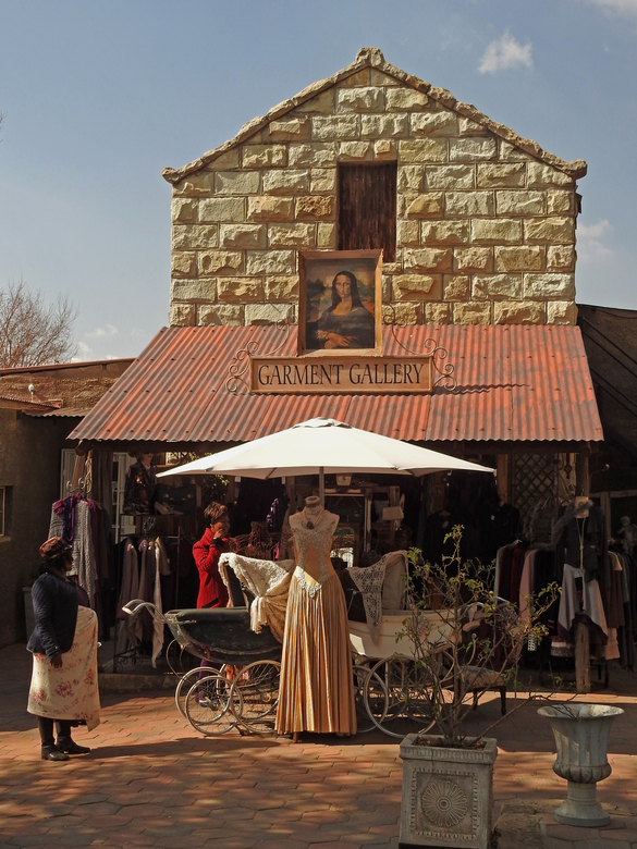 Clarens Zuid Afrika - Wilde West meets South Arfica