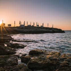 Zonsondergang Punta Della Suina Gallipoli