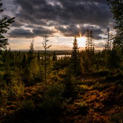Zonsondergang in Zweden_001
