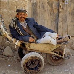 Rustuurtje in Jemen