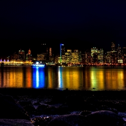 Vancouver by night..