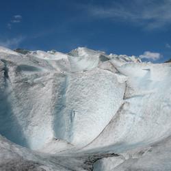 Smeltende Gletsjer door Zomerhitte