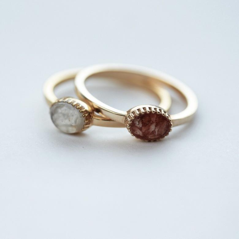 Ringen van het merk See You Memorial Jewelry - Met trots fotografeer ik voor een groothandel in gedenksieraden (See You Memorials). De sieraden kenmer