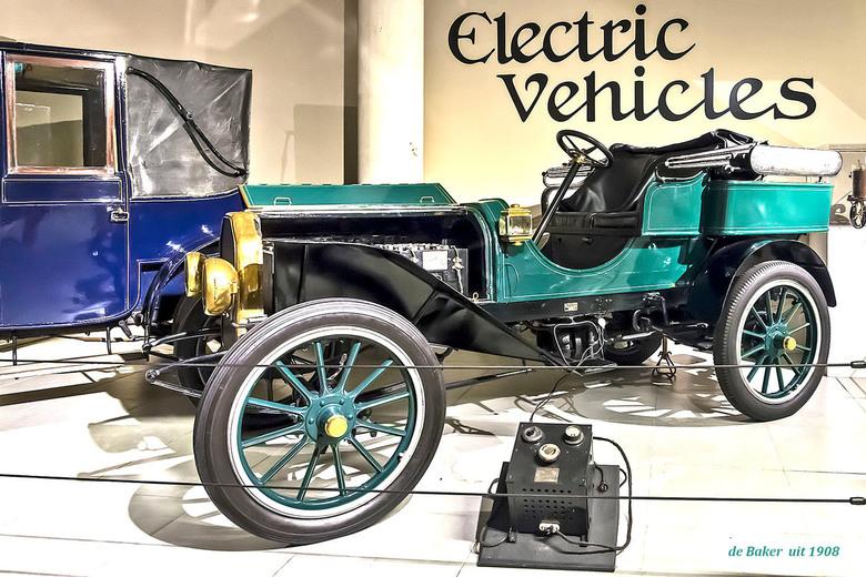 Baker Elektrische Auto 1908 Dsc 0969 Overig Foto Van Pixels4you
