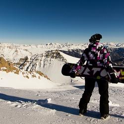 Snowboard portret