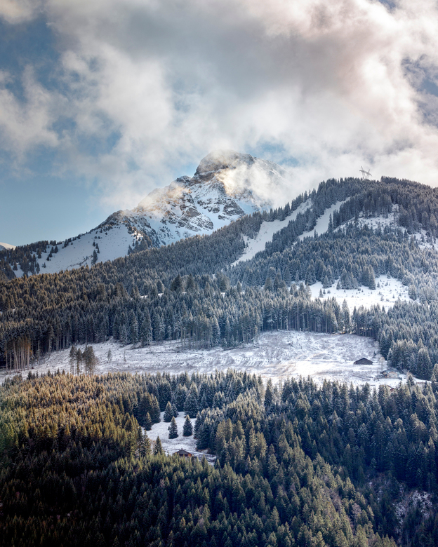 Frankrijk - Alpen - La Chapelle d'Abondance - Zonder statief<br /> 70-200 mm L f2.8 II<br /> <br /> 70 mm<br /> F/11<br /> 1/400