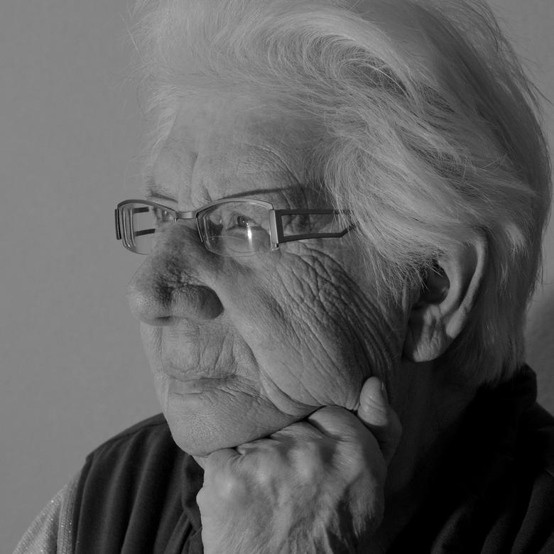 portret - moeder