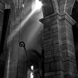 Zonlicht in de kerk