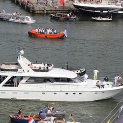 luxe jacht bij sail
