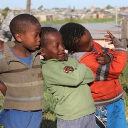 Township Port Elizabeth Zuid-Afrika