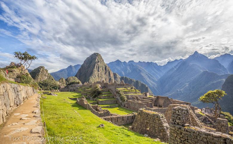 A Morning at Machu Picchu - part two (Peru) - Aan het einde van mijn reis heb ik Machu Picchu bezocht, dit is de tweede foto die ik van deze geweldige