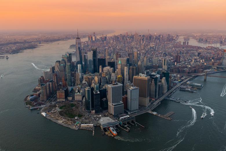 New York van boven -