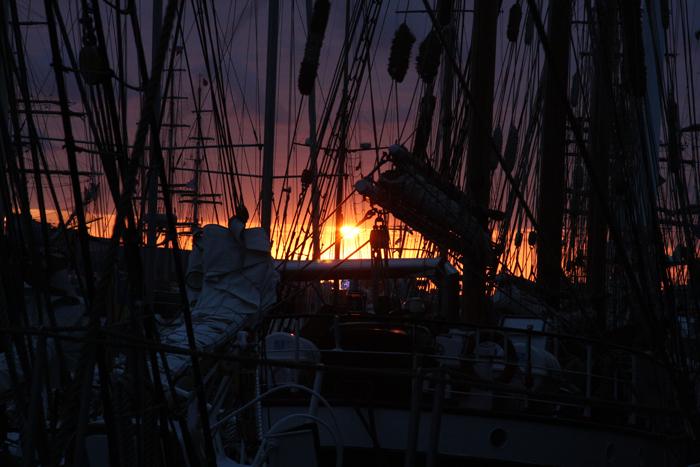 zon bij sail - De zaken de zon bij pre-sail IJmuiden 2010