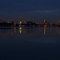 Rotterdam in blauw