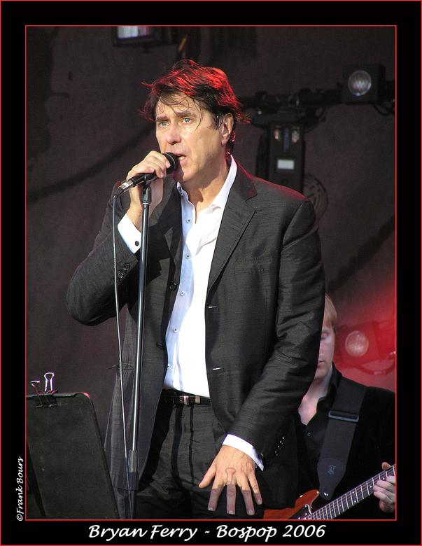 Bospop 10 - Bryan Ferry gezien op Bospop in 2006