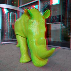 Rhino bij De Rotterdam 3D