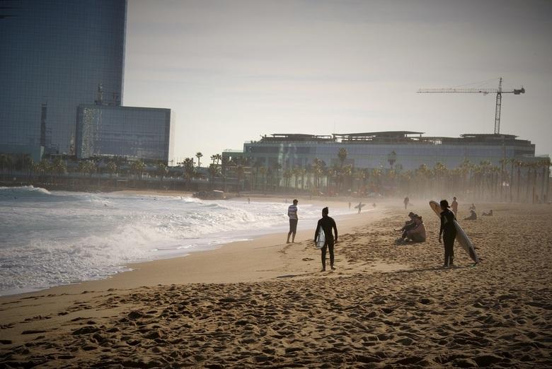 Strand van Barcelona -