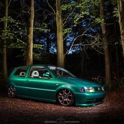 Volkswagen Lightpainting