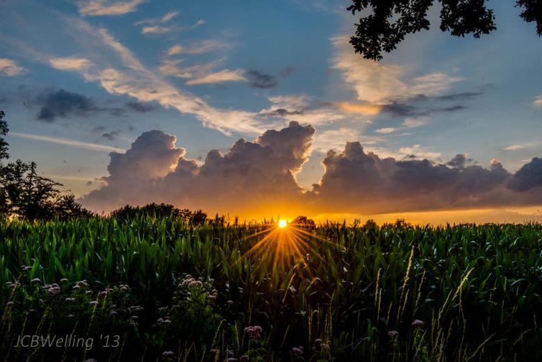 Regen En Zonneschijn : Na regen komt zonneschijn landschap foto van welling zoom