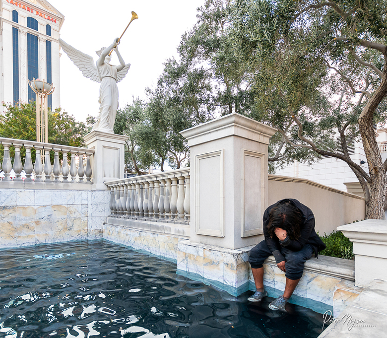 De andere kant van las Vegas -