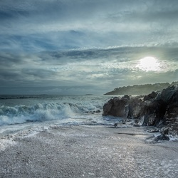 Rospico baai Bretagne