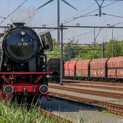stoomtrein westhaven amsterdam