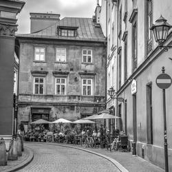 gewoon een straatje in Krakow.