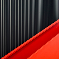 red stair
