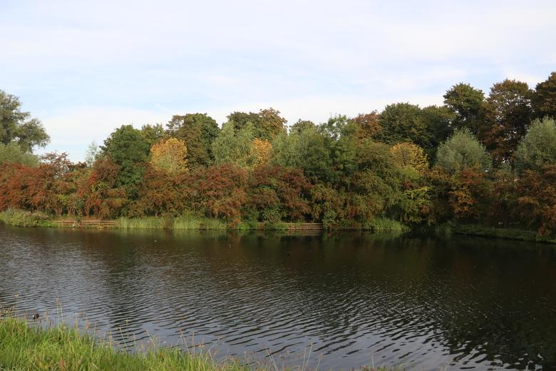 Herfst begint - Brielle in beginnende herfstkleuren