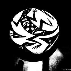 Zwart Wit Bol