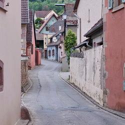 straatje in de Elzas.