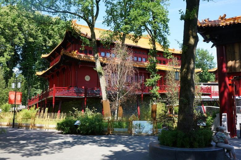 Pandasia het Panda verblijf in ouwehands dierpark in Rhenen