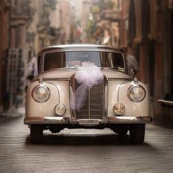 Here comes the bride...!