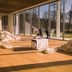 Museum Voorlinden: 3360 kms of fenced border